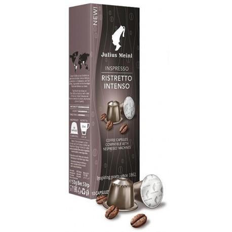 Julius Meinl Nespresso Ristretto Intenso, kapsule 10x5g
