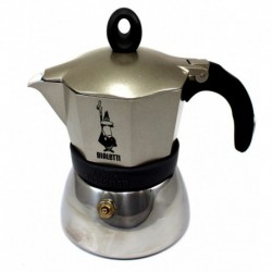 Bialetti Moka Induction zlatý, 3 porcie