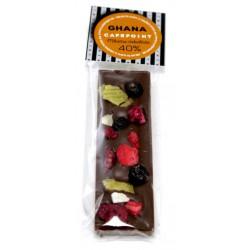 Mliečna čokoládová tyčinka Ghana 40%, 30g