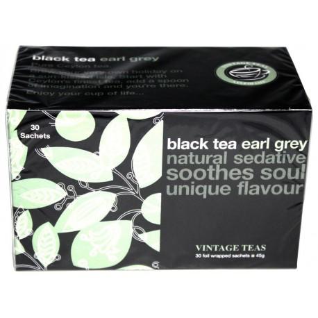 Vintage Teas Čierny čaj Earl Grey, 30ks