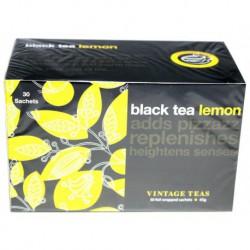 Vintage Teas Čierny čaj s citrónom, 30ks