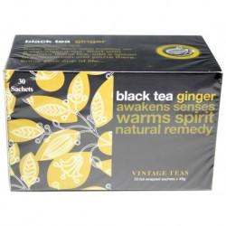Vintage Teas Čierny čaj so zázvorom, 30ks