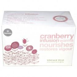 Vintage Teas Infusion Brusnicový čaj, 30ks