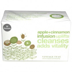 Vintage Teas Infusion Ovocný čaj Jablko so škoricou, 30ks