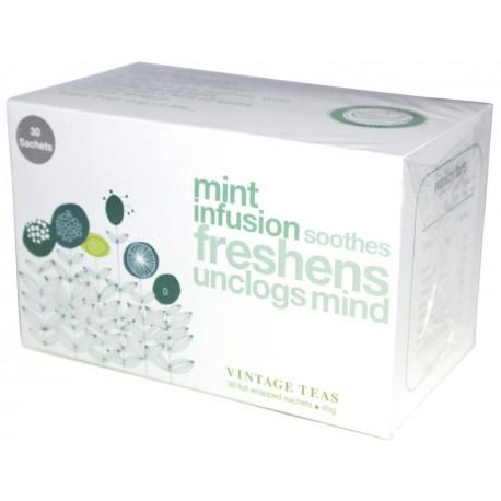 Vintage Teas Infusion Mätový čaj, 30ks