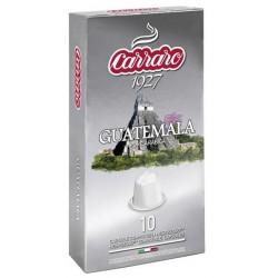 Carraro Guatemala pre Nespresso, 10x5,2g