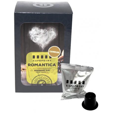 Cafepoint Romantica pre Nespresso, 11x5,5g