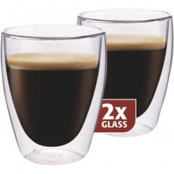 MAXXO Coffee Pohár s dvojitým sklom, 2x235ml