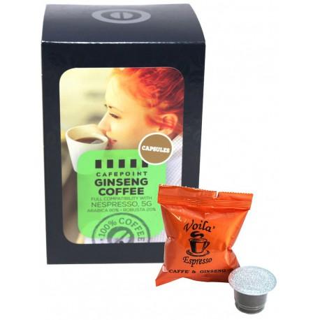 Cafepoint Ginseng Coffee pre Nespresso, 11x5g