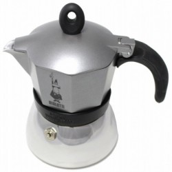 Bialetti Moka Induction antracitový, 3 porcie