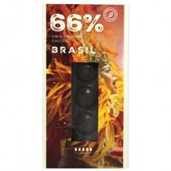 Cafepoint Tmavá Odrodová čokoláda Brasil 66%, 70g