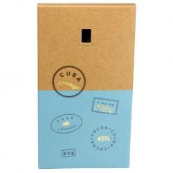 LYRA Mliečna čokoláda Cuba 45%, 90g