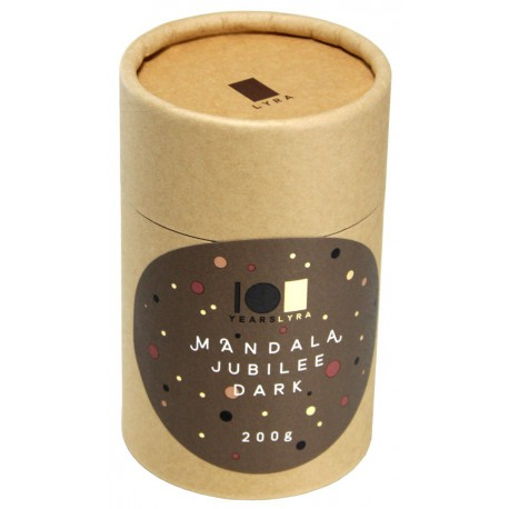 LYRA Čokoláda Mandala Jubilee Dark, 200g