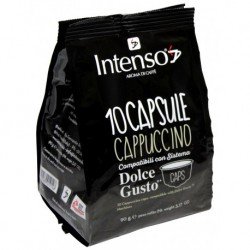Intenso Cappuccino pre Dolce Gusto, 10x9g  Obsah balenia-10 kapsúl Druh kávy-Iné