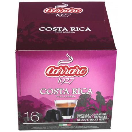 Carraro Costa Rica pre Dolce Gusto, 16x7g