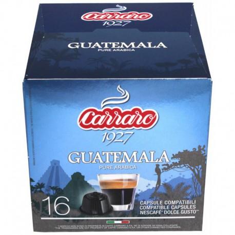 Carraro Guatemala pre Dolce Gusto, 16x7g