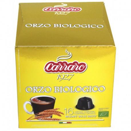 Carraro Orzo Biologico pre Dolce Gusto, 16x3g