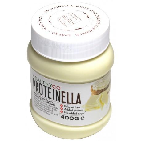 HealthyCo Proteinella Biela čokoláda, 400g