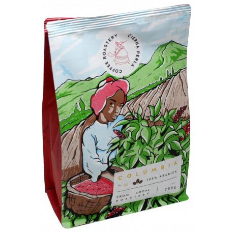 Čierna Perla Columbia Excelso 250g, zrnková káva