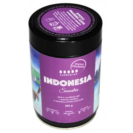 Cafepoint Indonesia Sumatra Svetlé praženie 250g, zrnková káva