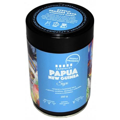 Cafepoint Papua New Guinea Sigri Svetlé praženie 250g, zrnková káva
