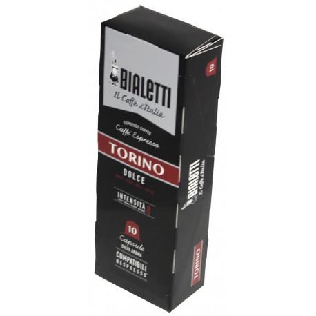 Bialetti Torino pre Nespresso, 10x5,5g