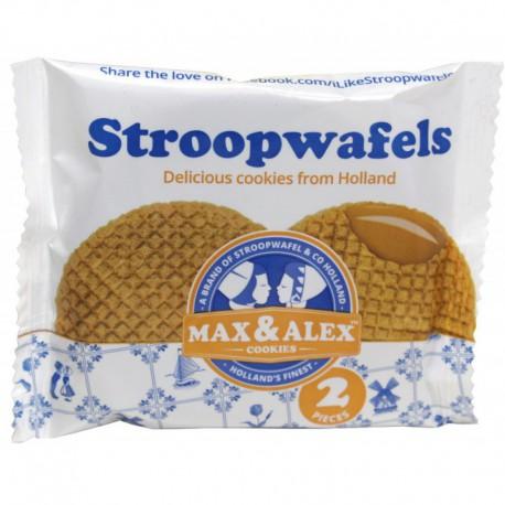Wafličky Tradičné holandské vafličky Duopack, 80g