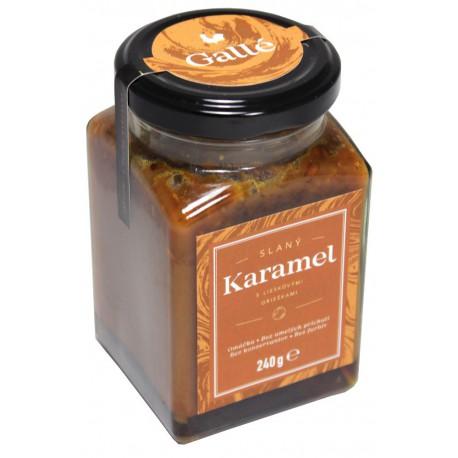 Gallé Slaná karamelová omáčka s lieskovými orieškami, 240g