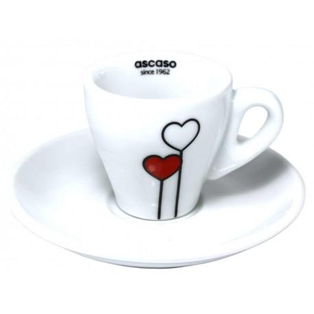 Ascaso šálka Espresso LOVE, 1ks