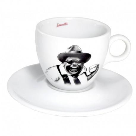 šálka cappuccino Lucaffé Mr. Exclusive