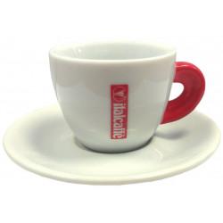 šálka Italcaffé espresso - červená