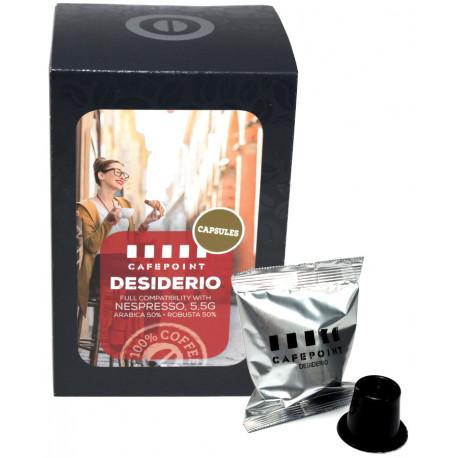 Cafepoint Desiderio pre Nespresso, 11x5,5g