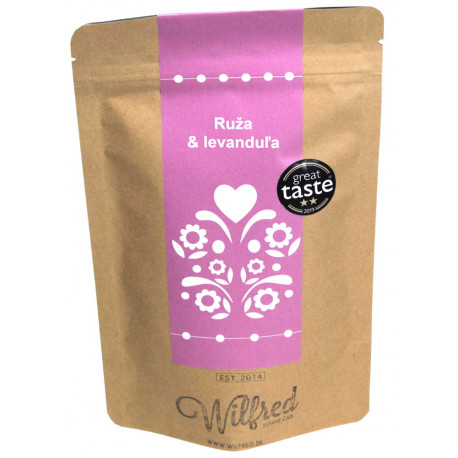 Wilfred Rooibos čaj Ruža&Levanduľa, 50g