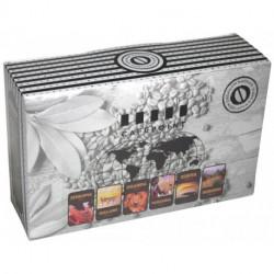 Cafepoint Mix Afrika 6x125g, zrnková káva