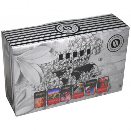 Cafepoint Mix Amerika 6x125g, zrnková káva