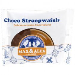 Wafličky Tradičné holandské čokoládové sušienky s karamelom Singlepack, 45g