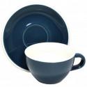 Acme & Co EVO Cappuccino šálka s podšálkou tmavomodrá, 190ml