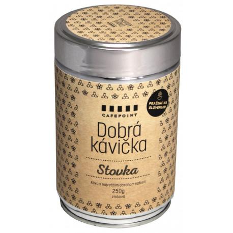 Dobrá Kávička Stovka 250g, zrnková káva