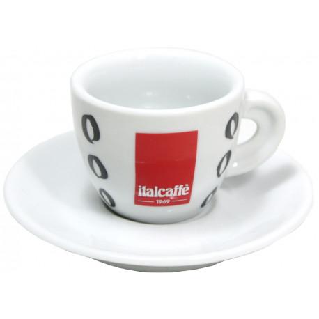 Italcaffé Espresso šálka s podšálkou 70ml, 6ks