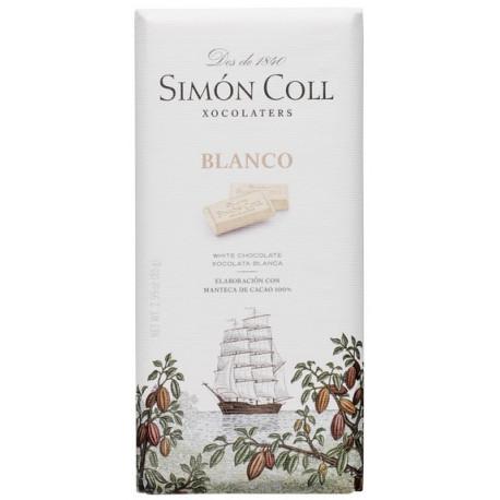Simón Coll Biela čokoláda, 85g