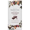 Simón Coll Horká čokoláda 70% s kúskami kakaových bôbov, 85g