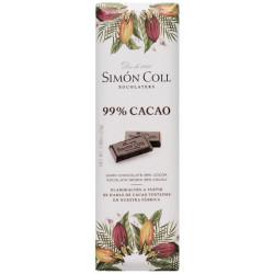 Simón Coll Horká čokoládka 99%, 25g