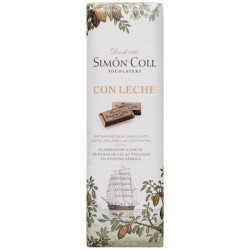 Simón Coll Mliečna čokoládka 32%, 25g
