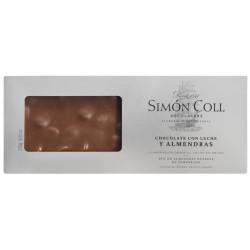 Simón Coll Turrón Mliečna čokoláda 32% s mandľami Marcona, 250g