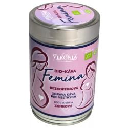 Veronia Femina Bio Bezkofeínová 250g, zrnková káva