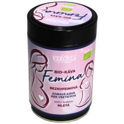 Veronia Femina Bio Bezkofeínová 250g, mletá káva