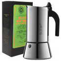 SET na prípravu espressa (moka kávovar a zrnková káva Brasil Double Fermentation, 250g)