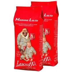 Lucaffé Mamma Lucia 2x1kg, zrnková káva