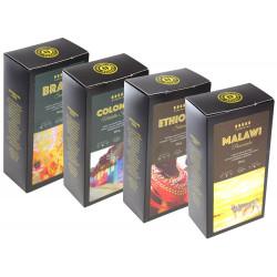 SET Cafepoint Odrodová káva 4x250g (Brasil, Colombia, Ethiopia, Malawi)