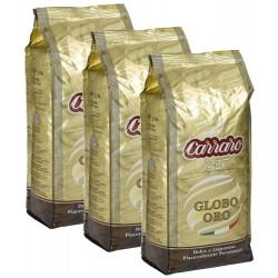 Carraro Globo Oro 3x1kg, zrnková káva